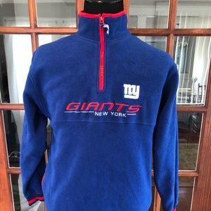 NY Giants NFL Fleece Top